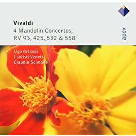 Vivaldi : Concerto for 2 Flutes, 2 Salmoe, 2 Violins, 2 Mandolins, 2 Theorbos & Cello in C major RV558 : II Andante molto