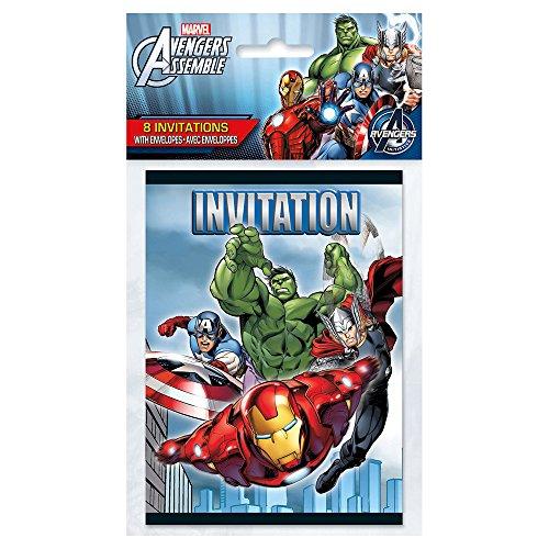 Marvel's Avengers Invitations [8 Per Package] - 1