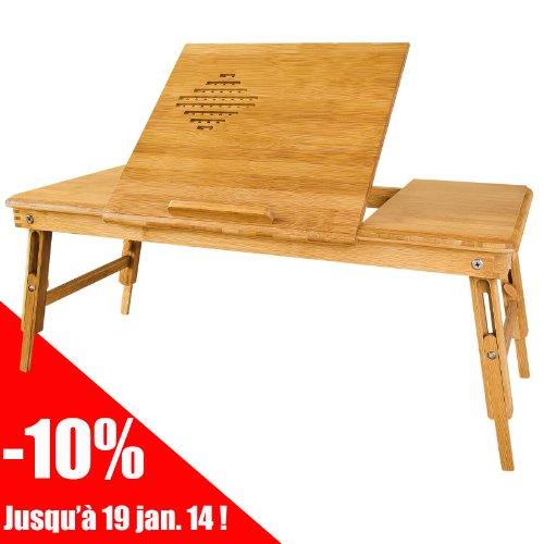 Chambre denfant table de lit pliable pour repas pc - Table de ventilation pour pc portable ...