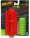 Hasbro - 33687 - NERF Vortex - Tech Kit - 10 Munitions et Chargeur de Disques en Mousse