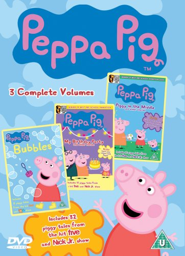 Peppa Pig Triple (Piggy in the Middle, My Birthday Party, Bubbles) [DVD]