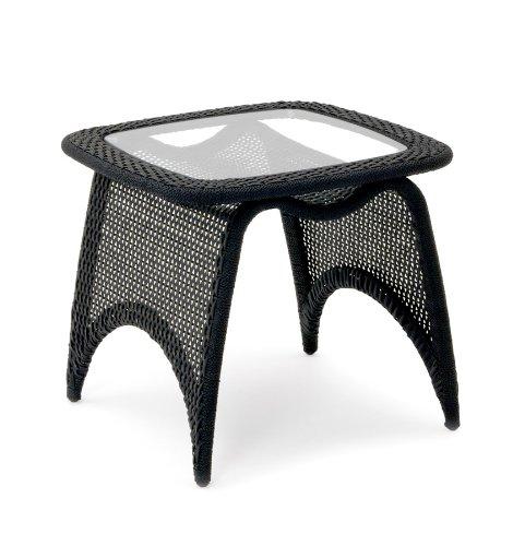 Garvida Beistelltisch Venezia - Farbe: Schwarz