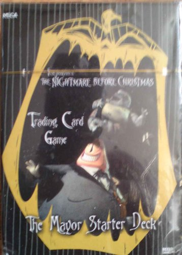Nightmare Before Christmas Trading Card Game the Mayor Starter Deck by NECA - 1