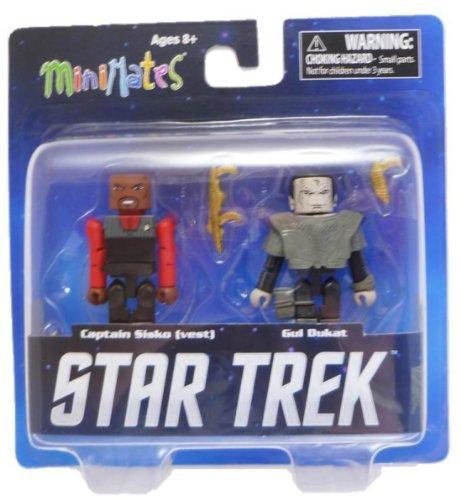 "MiniMates Star Trek 2"" Figures - Captain Sisko & Gul Dukat"