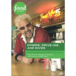 Diners Drive Ins Dives Season 1 DVD Guy Fieri Movies