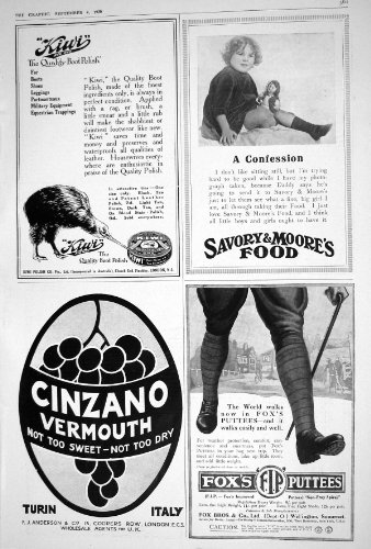 vermouth-1920-de-cinzano-des-bandes-molletiere-de-moores-de-polonais-de-botte-de-kiwi-du-fox-savoure