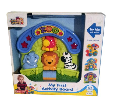 Little Learner My First Zoo Activity Board