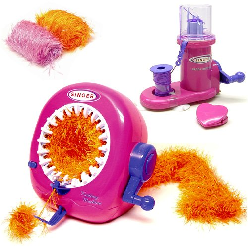 Deluxe Singer Spool Knitter & Knitting Machine Activity Set - Buy Deluxe Singer Spool Knitter & Knitting Machine Activity Set - Purchase Deluxe Singer Spool Knitter & Knitting Machine Activity Set (NKOK, Toys & Games,Categories,Pretend Play & Dress-up,Sets,Cooking & Housekeeping,Housekeeping)