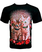 Rock Chang T-Shirt Sweet Cats Chatons Doux R 549
