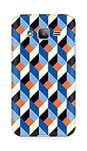 Amez designer printed 3d premium high quality back case cover for Samsung Galaxy J2 (Pattern 2)