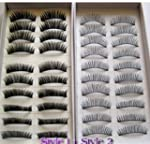 20 Pairs Regular Long and Thick Eyela...