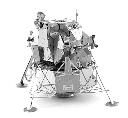 Fascinations Metal Earth Apollo Lunar Module 3D Metal Model Kit (Saturn 5 Rocket Model compare prices)