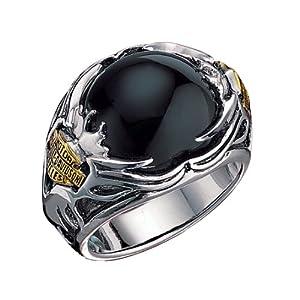 Sterling Silver Harley-Davidson Men's Tribal Ring|Amazon.com