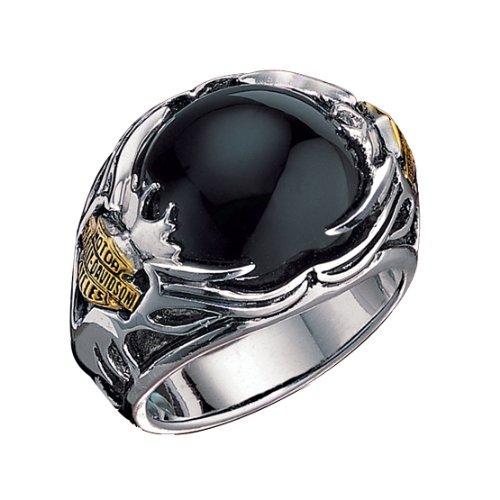 Sterling Silver Harley-Davidson Men's Tribal Ring