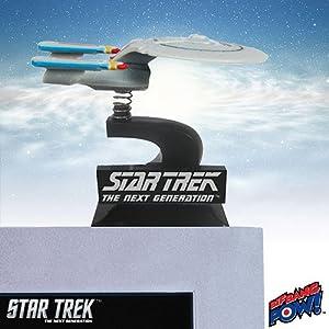 Star Trek: The Next Generation U.S.S. Enterprise NCC-1701-D Monitor Mate Bobble Ship