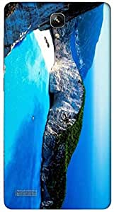 Timpax protective Armor Hard Bumper Back Case Cover. Multicolor printed on 3 Dimensional case with latest & finest graphic design art. Compatible with Xiaomi Red Mi Note Design No : TDZ-29012
