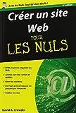 echange, troc David CROWDER - Créer un site Web Pour les Nuls, 8e édition