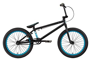 Eastern Bikes Axis Bike (Matte Black, 20-Inch BMX)