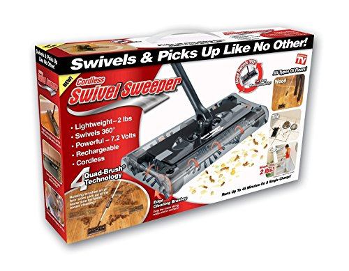 Cordless Swivel Sweeper - Original As Seen on TV by Swivel Sweeper (Shark Battery Operated compare prices)