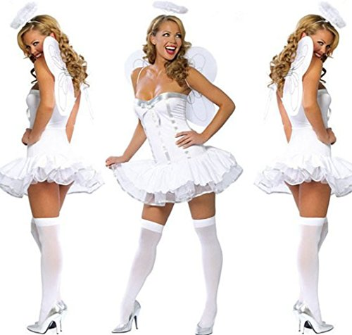 GTU TOP Halloween Butterfly Angel Sexy Lingerie Cosplay Costumes Set