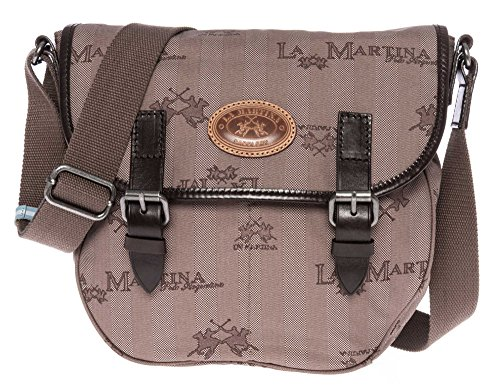 LA MARTINA Donne Borsa a tracolla marrone one size