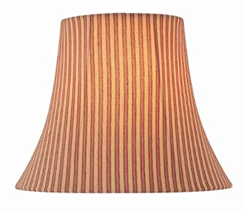 Lite source ch1193 18 18 inch lamp shade red for 18 inch window blinds