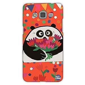 Designer Samsung Galaxy Grand Prime back Cover Nutcase - Panda Loves You