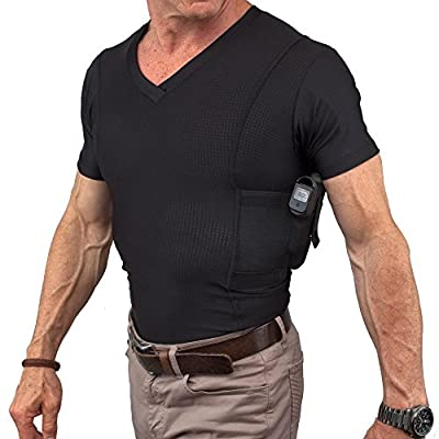 GrayStone Mens Concealed Carry Holster Shirt Gun Concealment Sporting Goods Apparel
