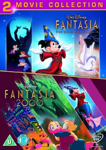 Fantasia and Fantasia 2000 [Reino Unido] [DVD]