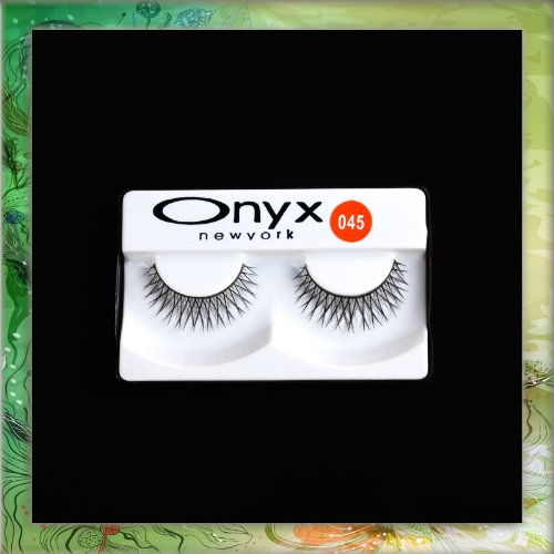 2 Pcs Long Black False Eyelashes Eye Lashes Makeup #045 B0298B0298