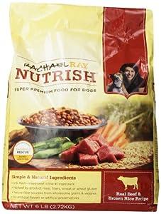Rachael Ray Nutrish Dry Dog Food,  Beef & Rice Recipe, 6-Pound Bag
