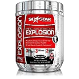 Six Star Pre-Workout Explosion, Fruit Punch, 0.46 lbs (270g) (Packaging may vary)