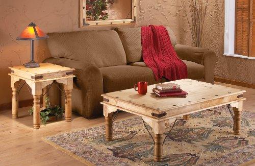 Gonzalez & Associates® Rustic Pine Console Table