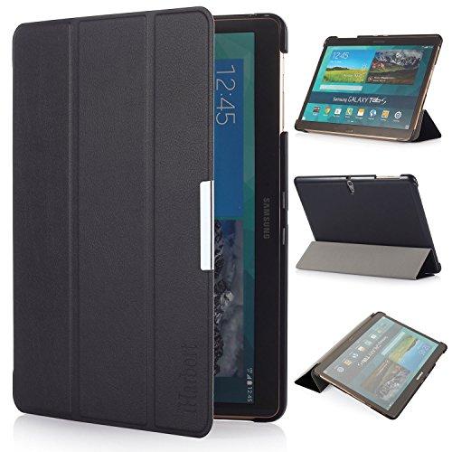 iHarbort® Samsung Galaxy Tab S 10.5 custodia in pelle, ultra sottile di peso leggero Case Cover custodia in pelle per Samsung Galaxy Tab S 10.5 pollice T800 T805 Holder, con il sonno / sveglia la funzione,