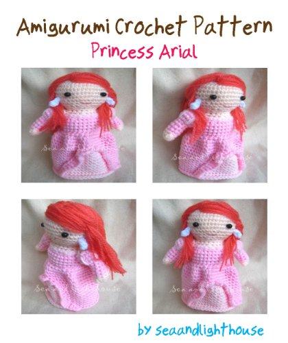 Ariel Princess Amigurumi Crochet Pattern