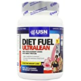 Cheap USN Diet Fuel Ultralean Weight Control Meal Replacement Shake Powder Strawberry - 1 kg On sale-image