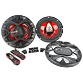 New Pair Boss Ch6530 300 Watt 6.5 Inch Speaker Car Audio 3-Way Car Speakers