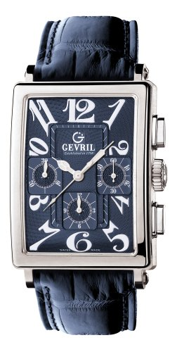 Gevril Men's 5014 Avenue of Americas Automatic Chronograph Watch