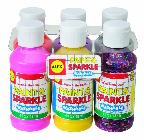 51K 6kY7ztL Cheap  Alex Paint and Sparkle (6 Pack)