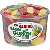 Haribo Saure Gurken (Sour Pickles ) Tub -150 pcs
