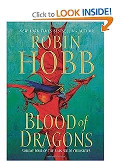 Blood of Dragons (Rain Wilds Chronicles 4) - Robin Hobb