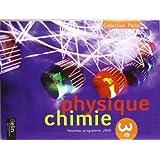 Physique Chimie 3e Parisi : Programme 2009