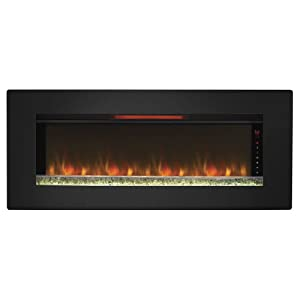 A wall-mounted electric fireplace is the best solution for creating a bold style statement in your home