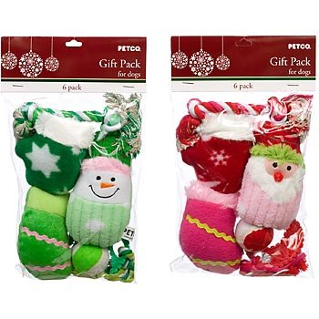 PETCO Holiday Dog Toy Gift Pack