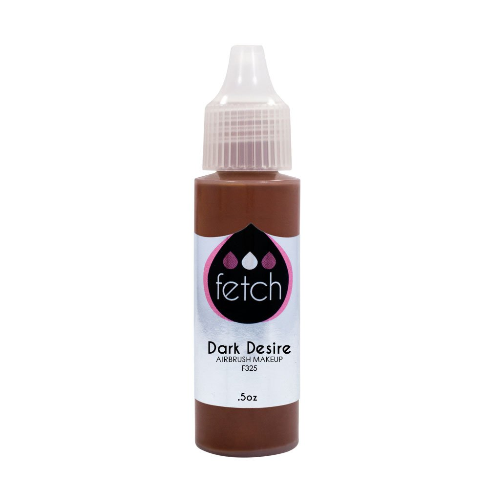все цены на Fetch Foundation DARK DESIRE Airbrush Makeup Face Spray Cosmetics .5 oz Bottle