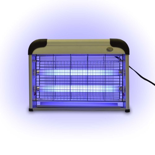 Electronic Indoor Insect Killer Zapper working