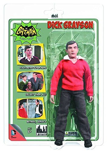 Batman Classic 1966 TV Series 2 Dick Grayson 8-Inch Action Figure by Figures Toy Company
