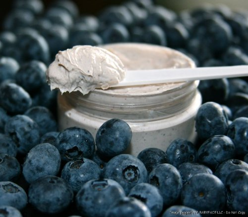BABYFACE BLUEBERRY OXYGEN MASQUE~ANTIOXIDANT MASK- Bring New Life to Dull Skin, Increase Blood Flow & Brightness