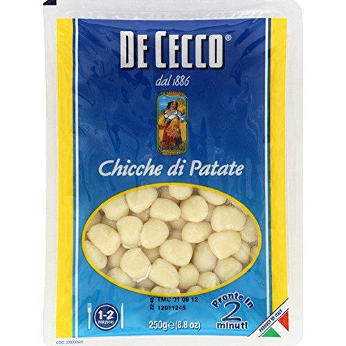 De Cecco - Chicche di patate - Le paquet de 250g - (pour la quantité plus que 1 nous vous remboursons le port supplémentaire)