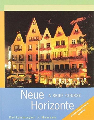 Neue Horizonte: A Brief Course